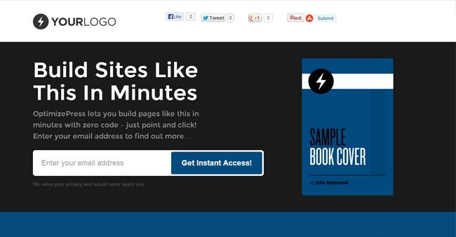 Best Sales Page WordPress Themes For Internet Marketers - Sales page template wordpress