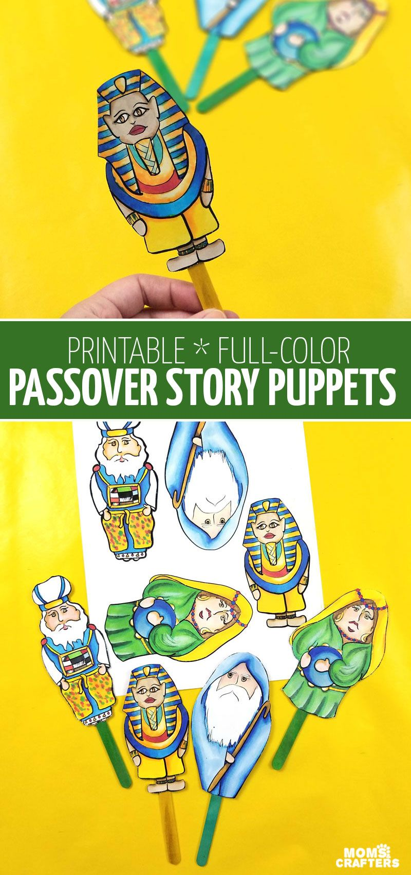 Passover Puppets Puppets Fun Printable Pesach Puppets Full Etsy In 2021 Pesach Crafts Passover Crafts Pillow Crafts [ 1700 x 800 Pixel ]