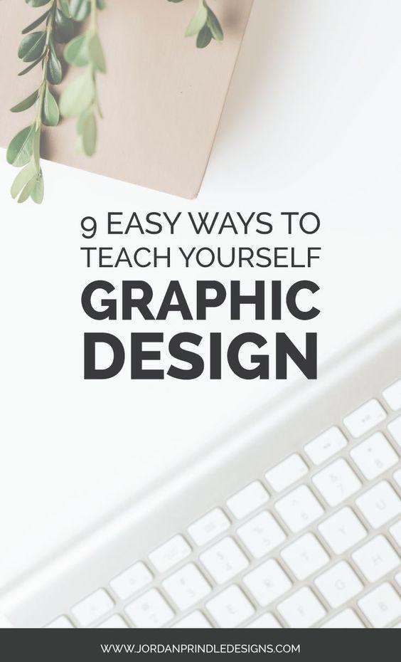 9 Easy Ways To Teach Yourself Graphic Design — Jordan Prindle Designs | Creative Brand and Squarespace Designer for Entrepreneurs