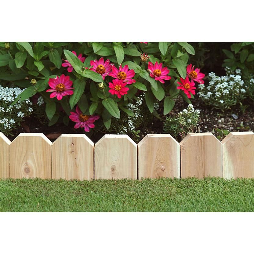 Kmart Com Wood Garden Edging Garden Borders Landscaping With Rocks