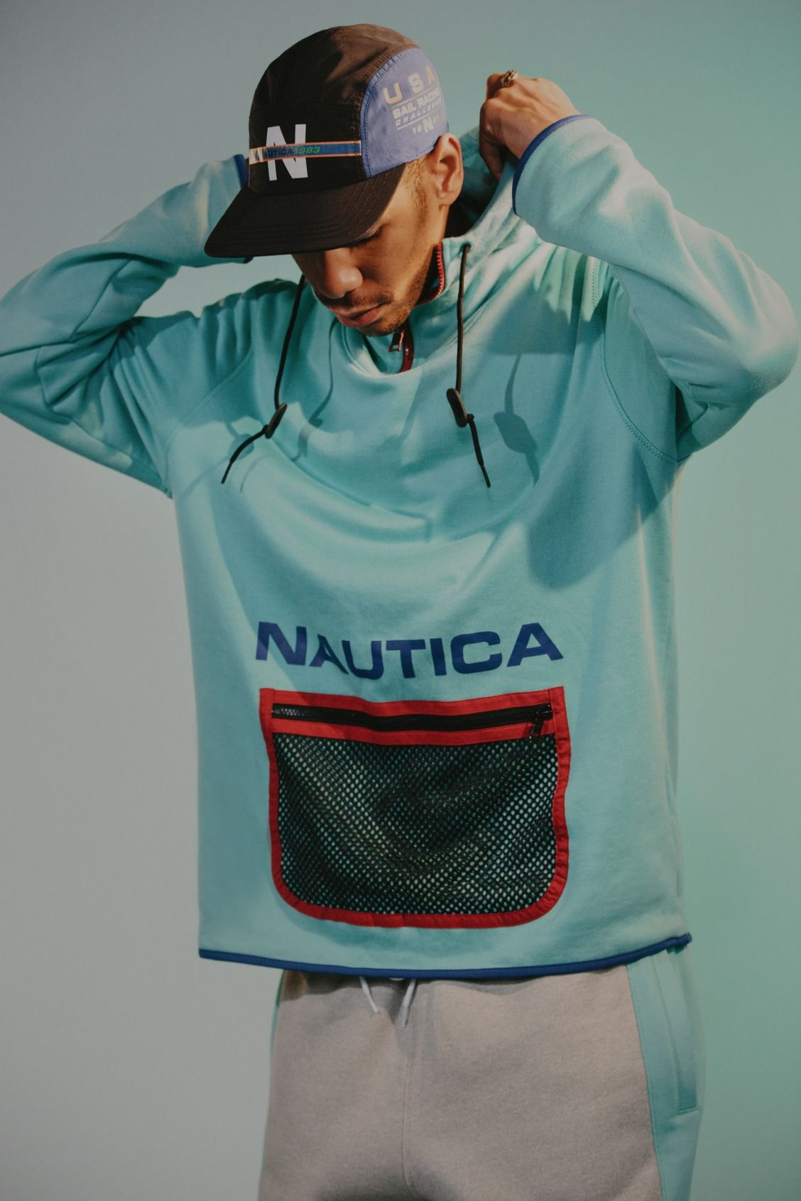 Activewear Pinterest Houstonsoho Nautica From Urbanoutfitters Activewear Fashion Mens Outfits Streetwear Outfit