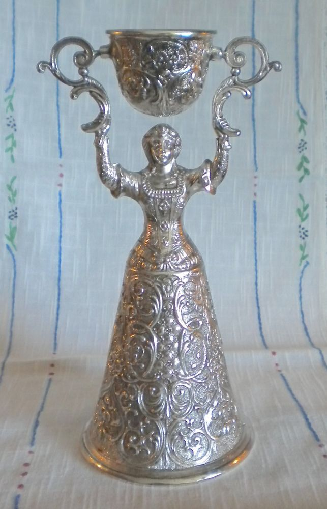 German Wedding Gift Ideas: Vintage Old German -Nuernberg Nuremberg- Wedding Toast