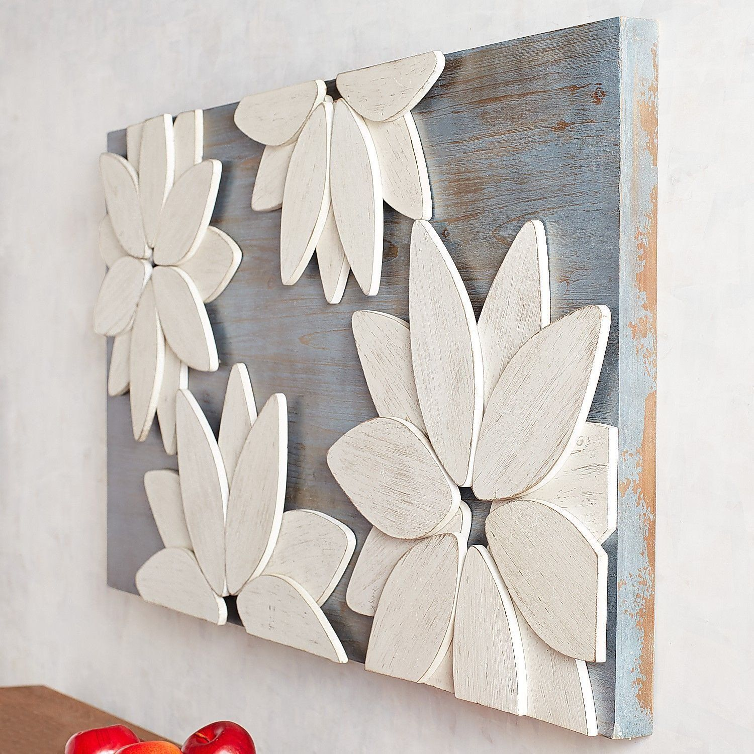 Pier One Imports Wall Decor Mod Flowers Wall Decor In 2020 In 2020 Flower Wall Decor Diy Wall Decor Diy Wall Decor For Bedroom