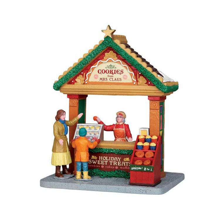 Lemax Village Collection Cookies From Mrs. Claus #53220 - House of ...
