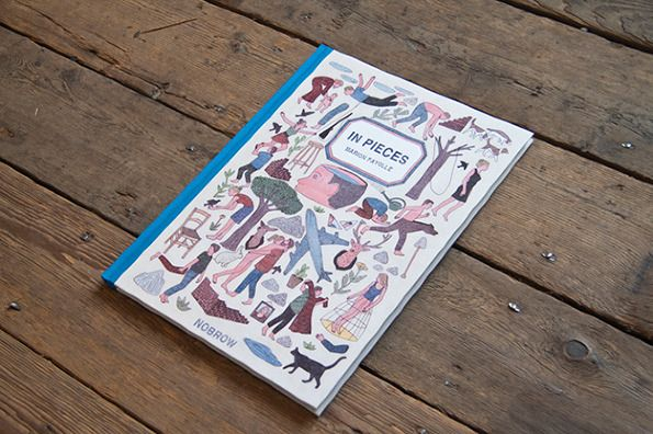 In Pieces - Book by French illustrator Marion Fayolle