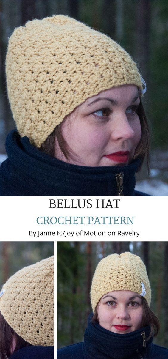 Bellus Hat Pattern By Joy Of Motion