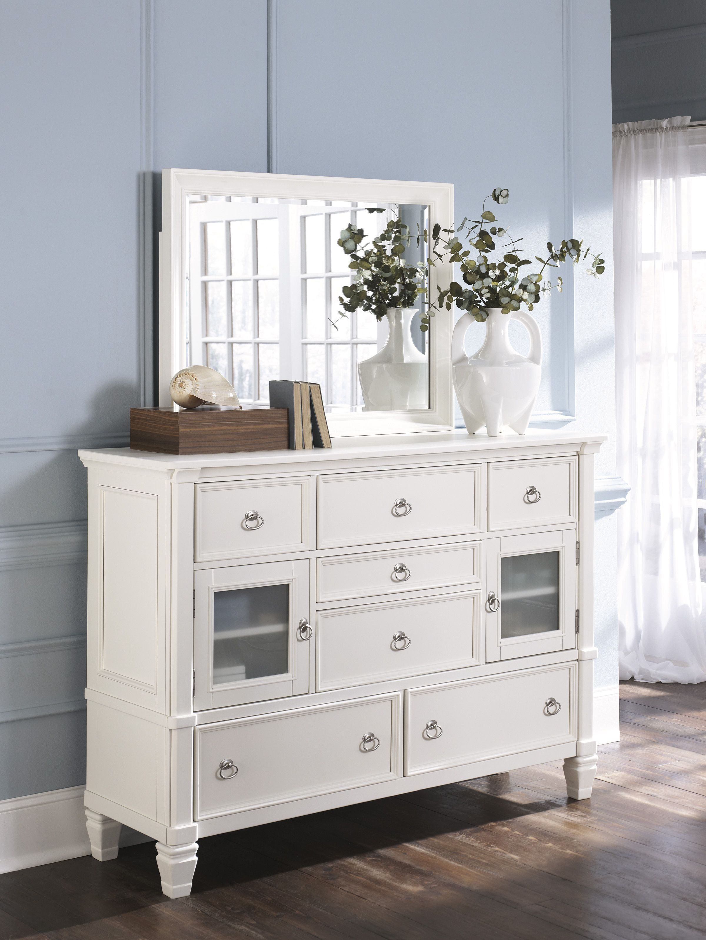 Best Prentice Dresser Mirror White Dresser Decor Ashley 400 x 300