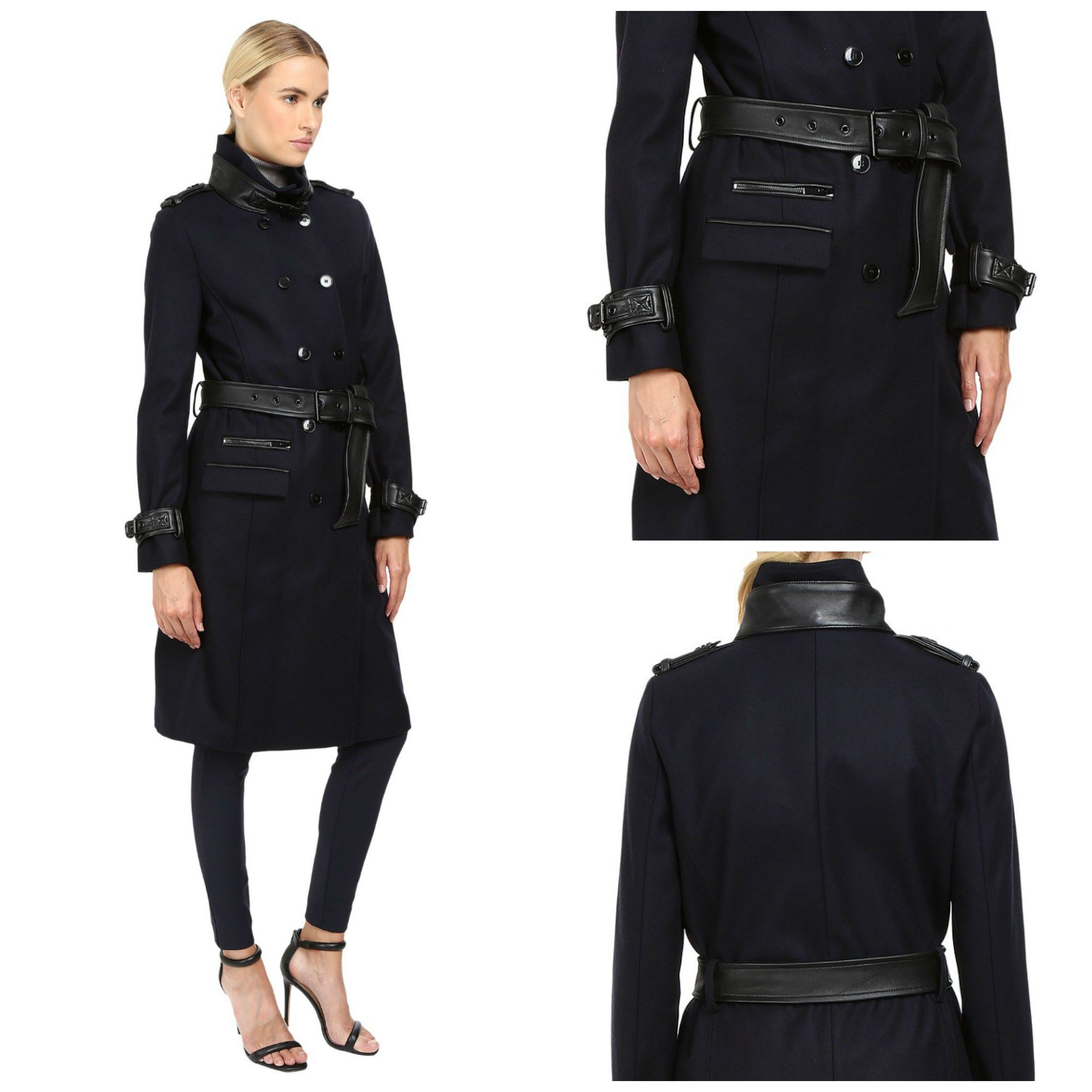 The Kooples Long Belted Trench Coat For Women | Raincoats for ...