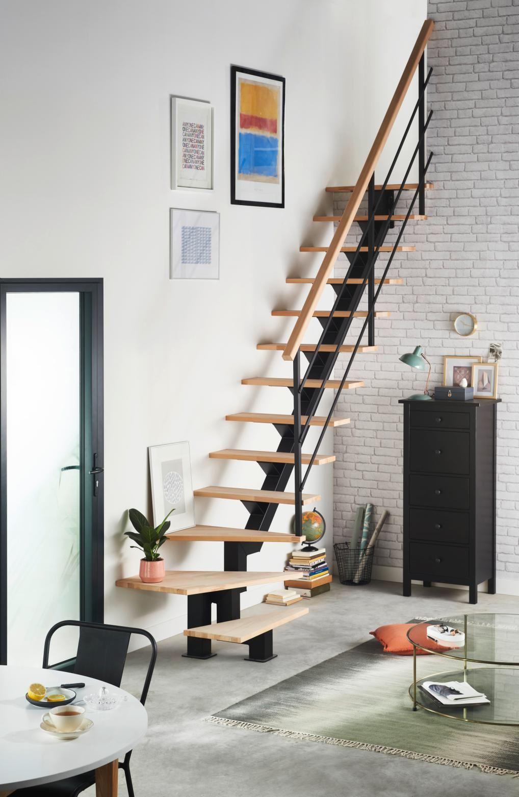 Escalier Studio Escalier Pour Petit Espace Idees Escalier Deco Maison