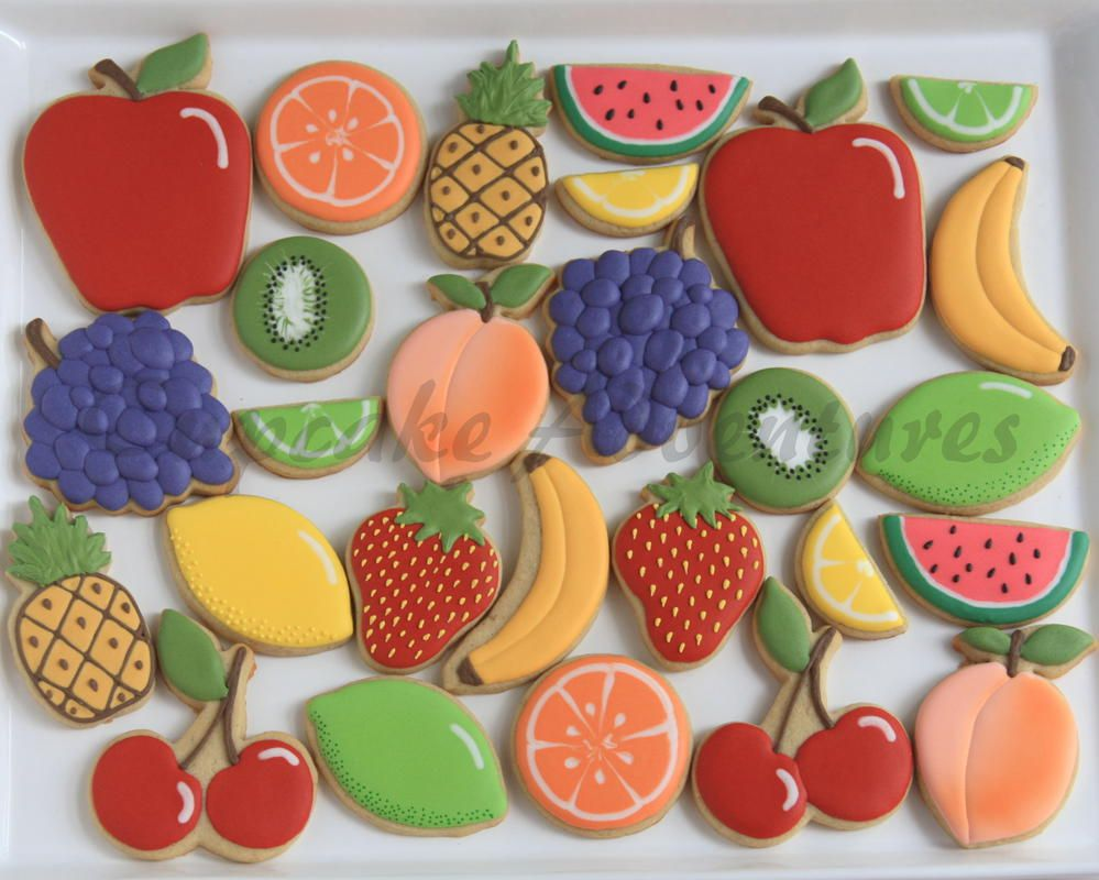 Fruit cookies | Cookie Connection