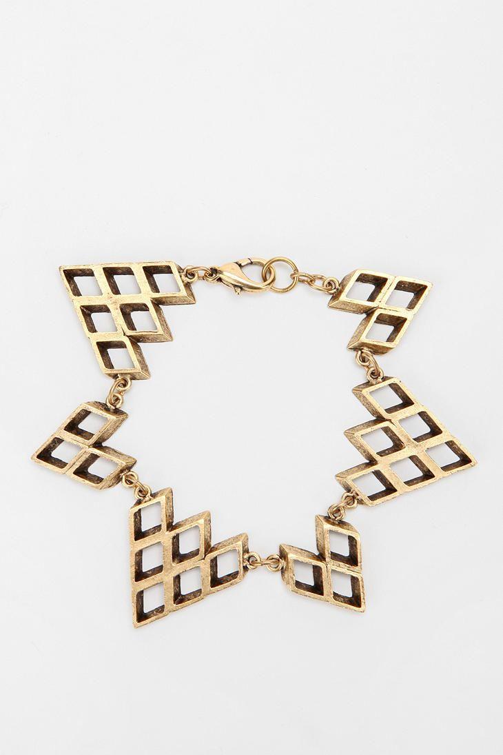 Hex by lady grey zigzag bracelet bisutería pinterest best lady