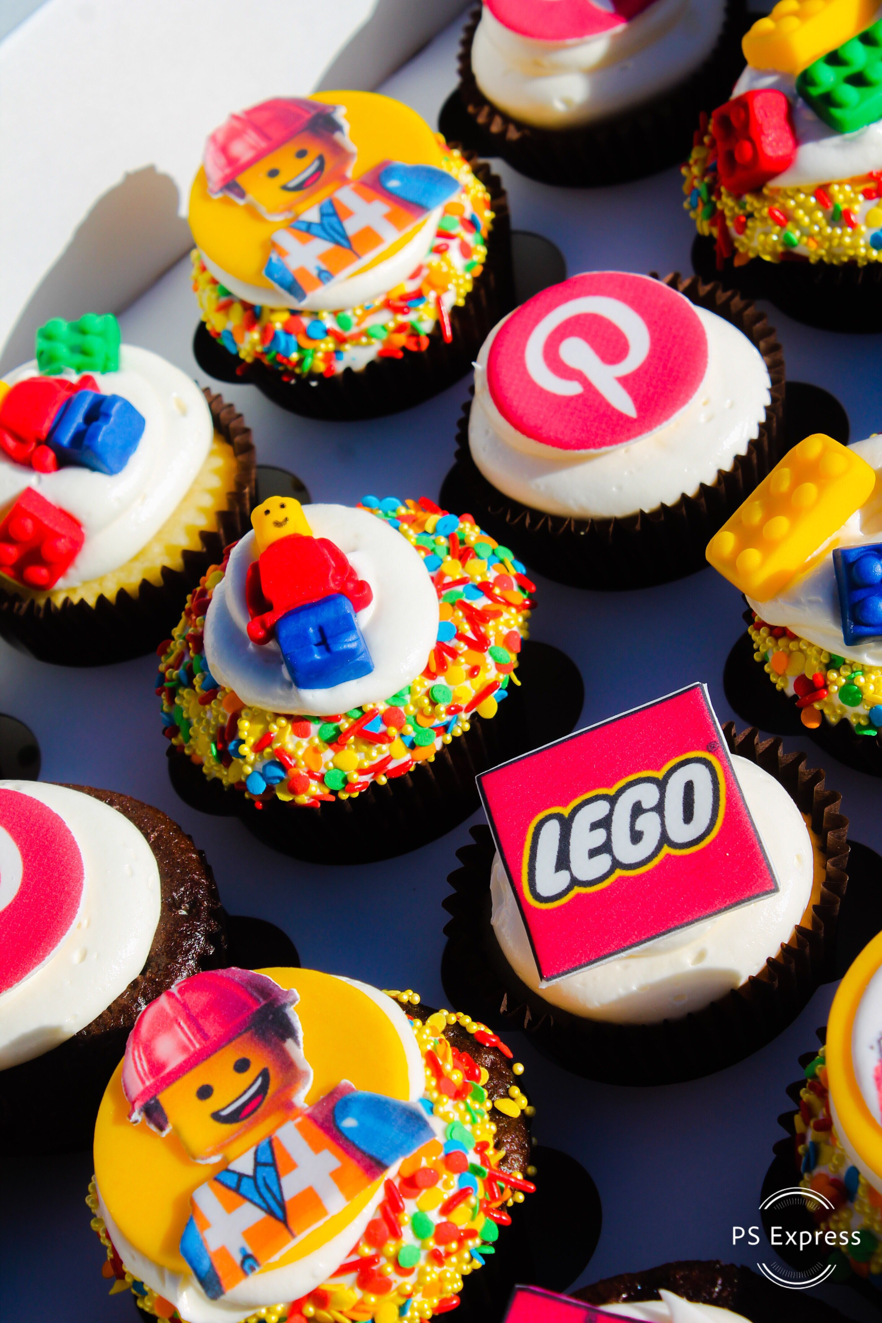Amazing Lego Movie 2 Cupcakes With Images Lego Cupcakes Movie Funny Birthday Cards Online Overcheapnameinfo