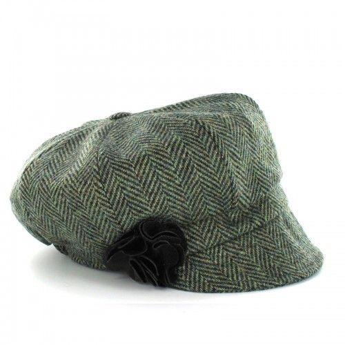 576aeb3e Mucros Weavers green newsboy hat $55 | Put a Lid on it! | Hats, News ...