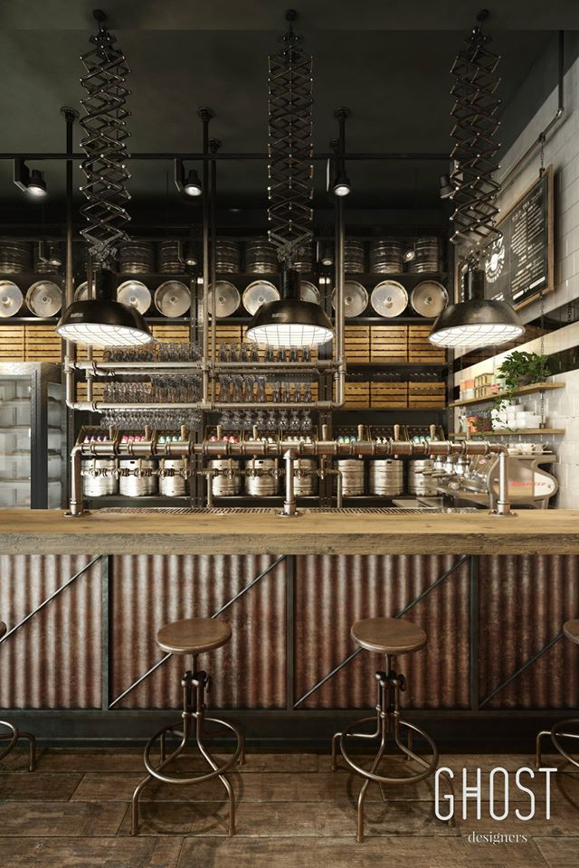 Pin by Ghost Designers on Restaurant & Bar Design / Smokehouse in ...