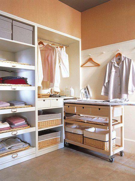 D nde y c mo montar una lavander a en casa cuartos de - Cuarto de plancha ...