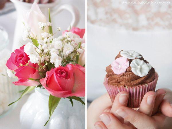 Chocolate Cupcakes by http://dreierlei-liebelei.blogspot.de