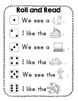 Kindergarten Journeys Lesson 8 RTI Letter and Sight Word