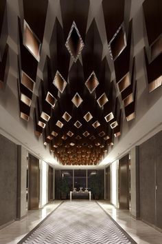 Double Height Feature Wall Google Search Lobby Design Ceiling Design Interior Architecture Design