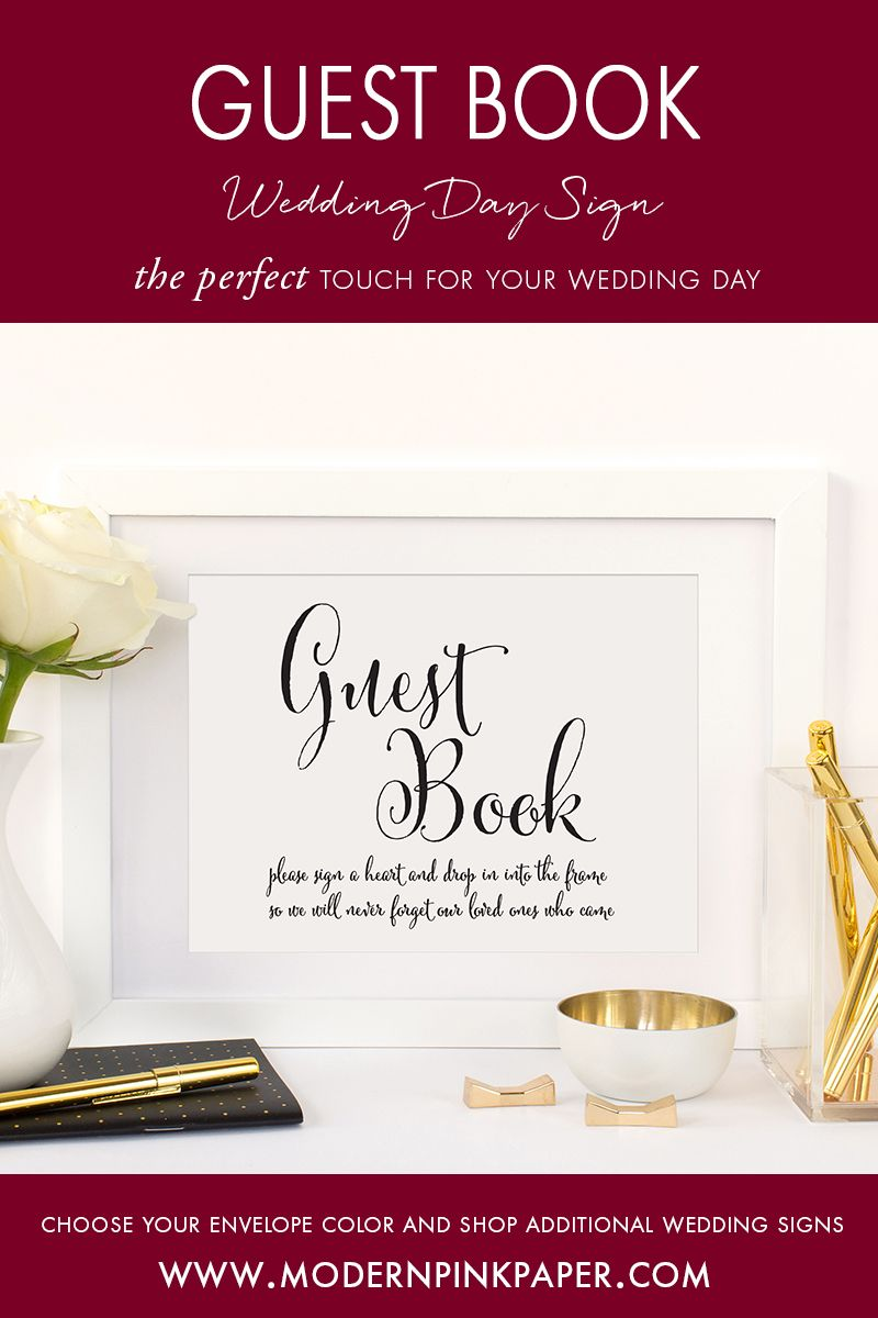 Guest book please sign a heart, Guest book please sign, Guest book ...