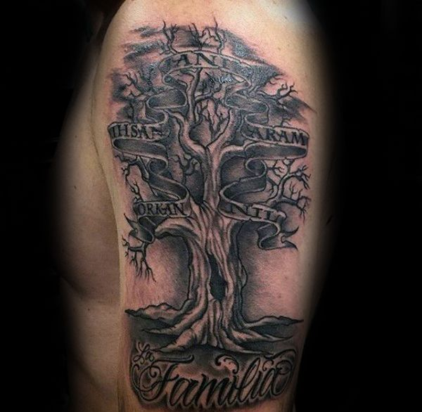 60 family tree tattoo designs f r m nner sippen ink ideen tattoo vorlagen lebensbaum und. Black Bedroom Furniture Sets. Home Design Ideas