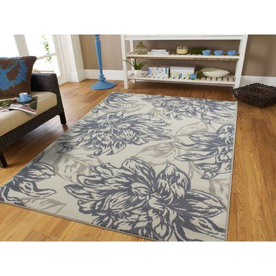 House Of Hampton Bromford Gray Area Rug Products Rugs