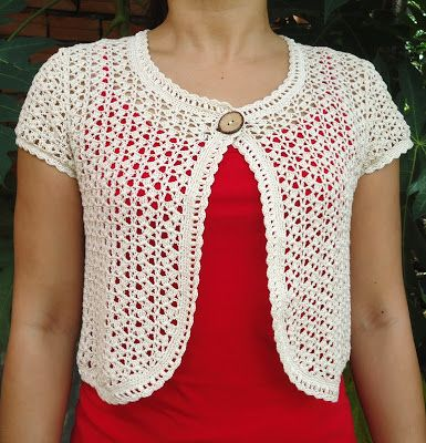 CHILDS CROCHET PATTERN SHRUG | Original Patterns | Babies things ...