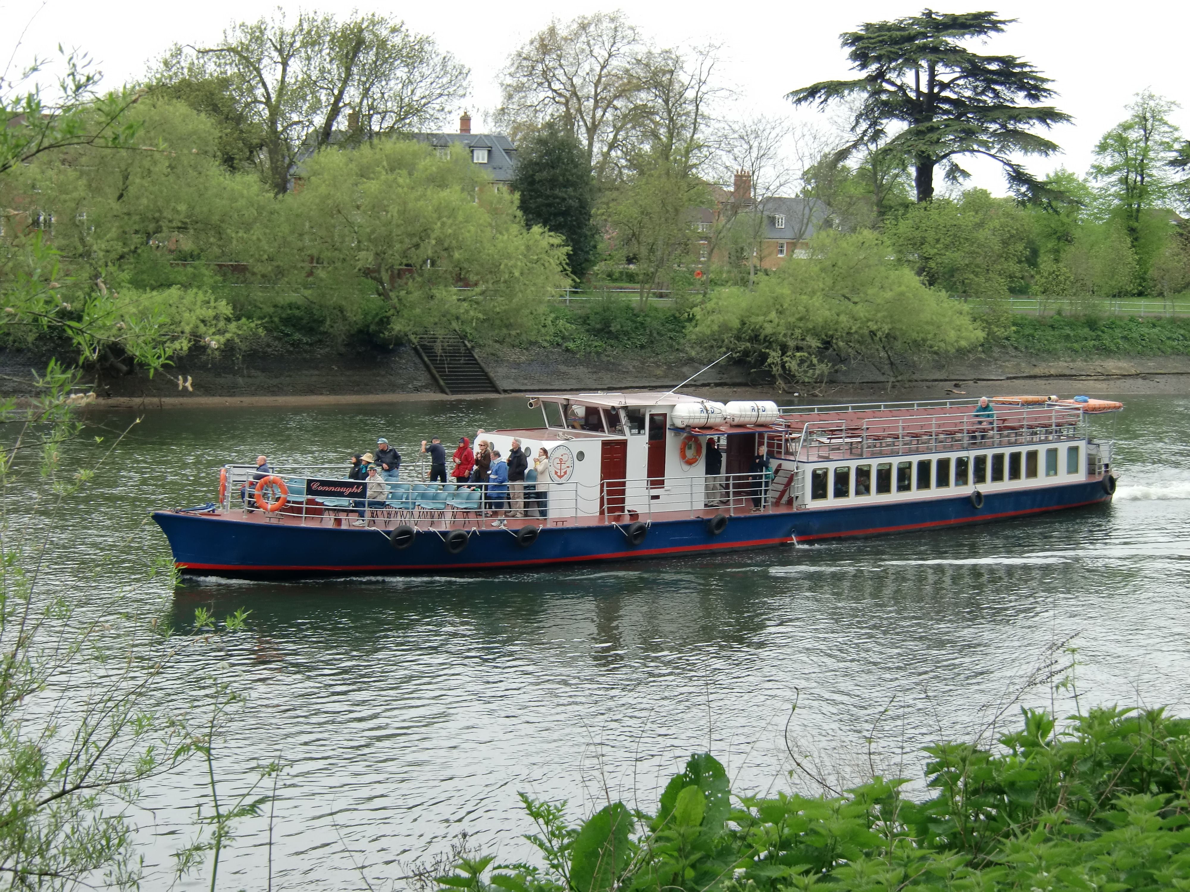 Boat From Kew Gardens To London