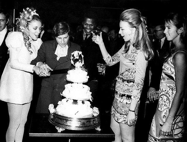 Sharon Tate And Roman Polanski S Wedding 20 01 1968 In 2020