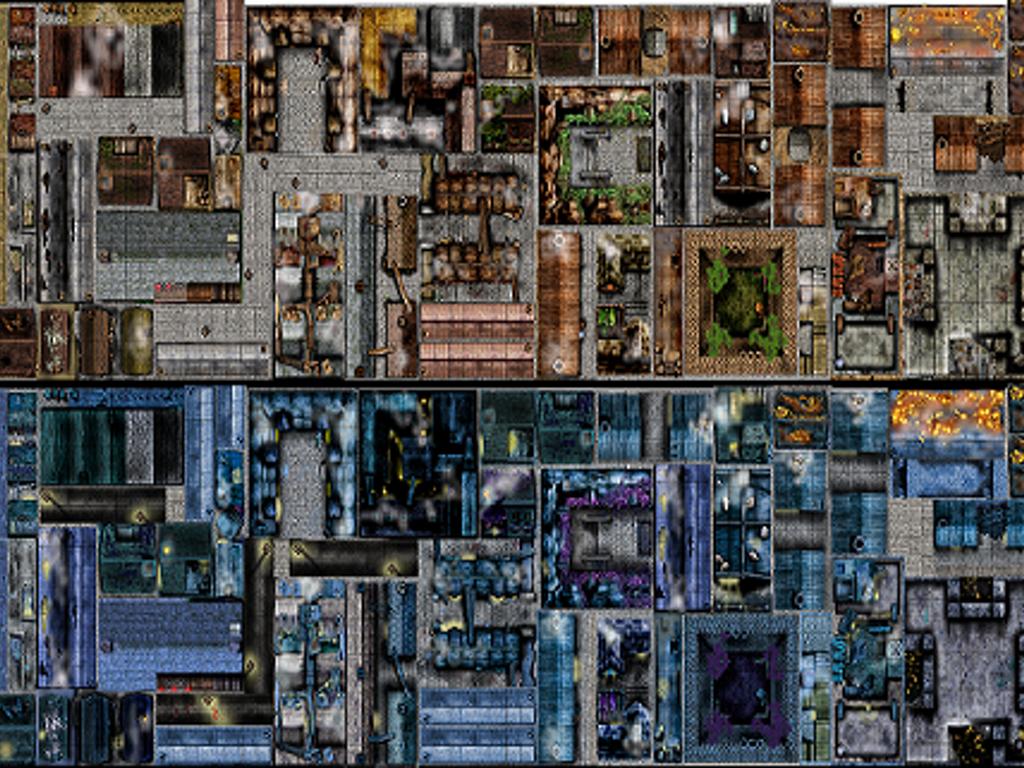 Subway Map Tileset Rpgmaker.Maps Art Rpg Rpg Tiles And Tokens Tiles Rooftop Rpg