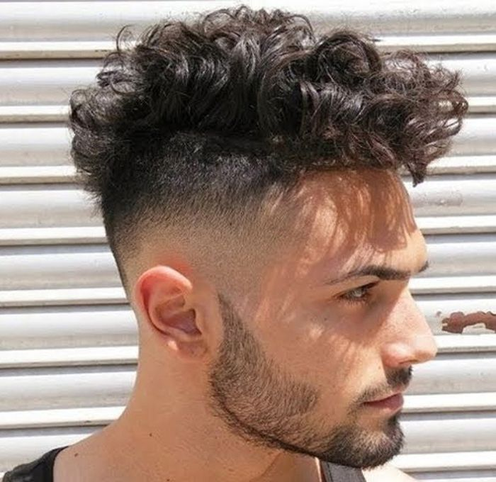 Mens Curly Hairstyles Prepossessing Coolest Men's Curly Hairstyles 20172018  Curly Hairstyles Curly