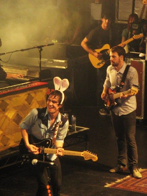 He Has Bunny Ears On Panic At The Disco Disco Crazy Outfits