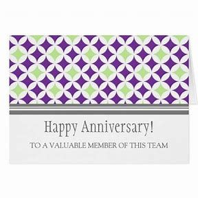 image result for work anniversary cards - Work Anniversary Cards