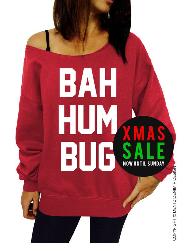 Use Coupon Code Pinterest Bah Hum Bug Ugly Christmas Sweater