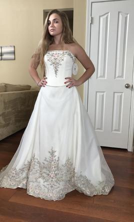 Oleg Cassini Cv008 Wedding Dress Currently For Sale At 71 Off Retail