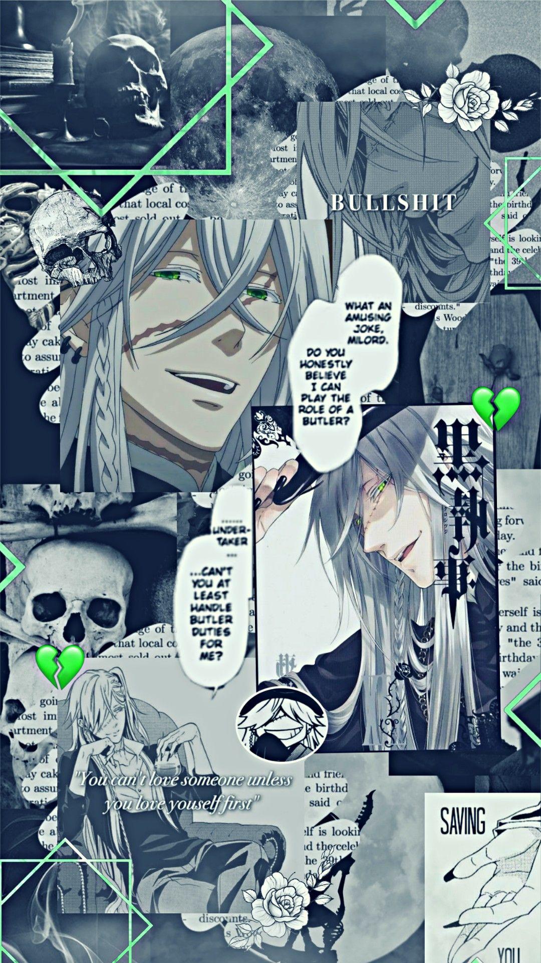 Pin On Geek Ish 3 Anime black butler wallpaper