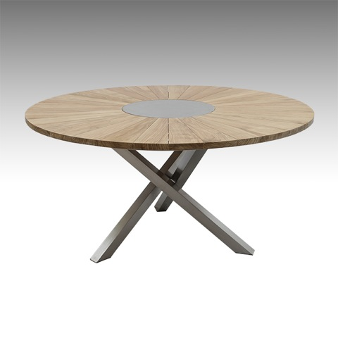 Mod le solstice capacit maximale 8 personnes for Table ronde 8 personnes dimensions