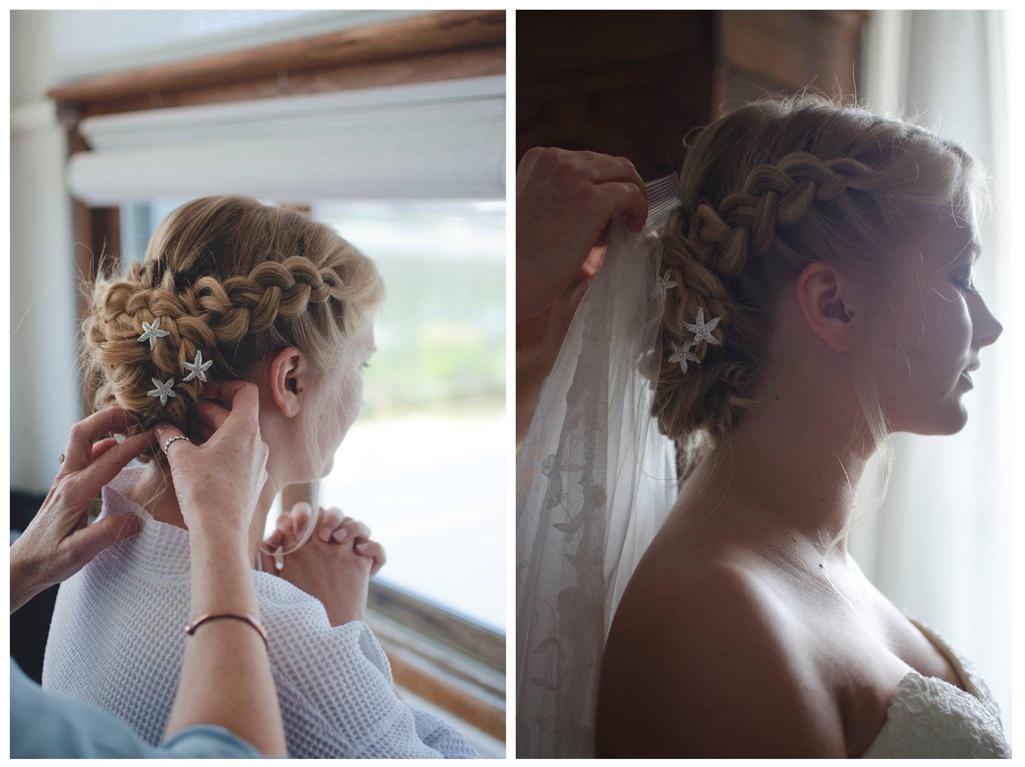 bridal updo updo with braids wedding hairstyle beach bride