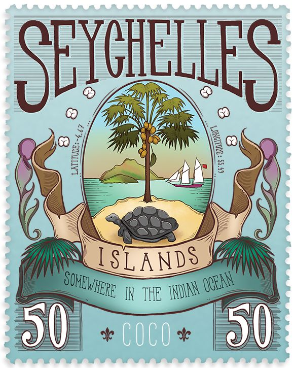 Pin By Anse Pierrot On Handcrafted T Shirts Seychelles Island Coco