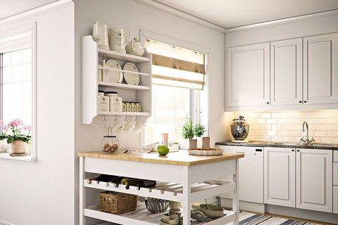 Kungshus - marina sekelskifteshus - Anebyhusgruppen Küche und - küche mit esszimmer