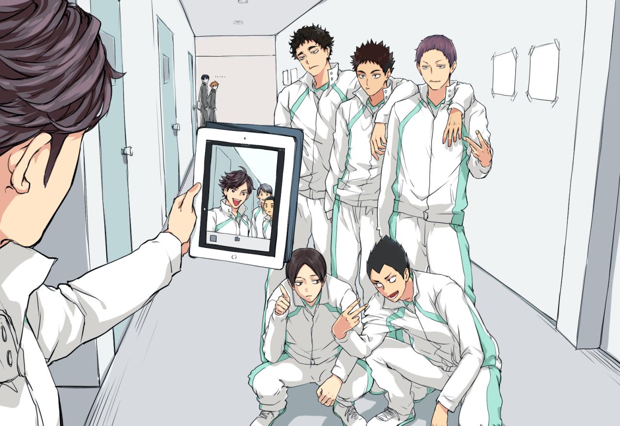Receive Toss Spike Haikyuu Haikyuu Anime Oikawa Tooru
