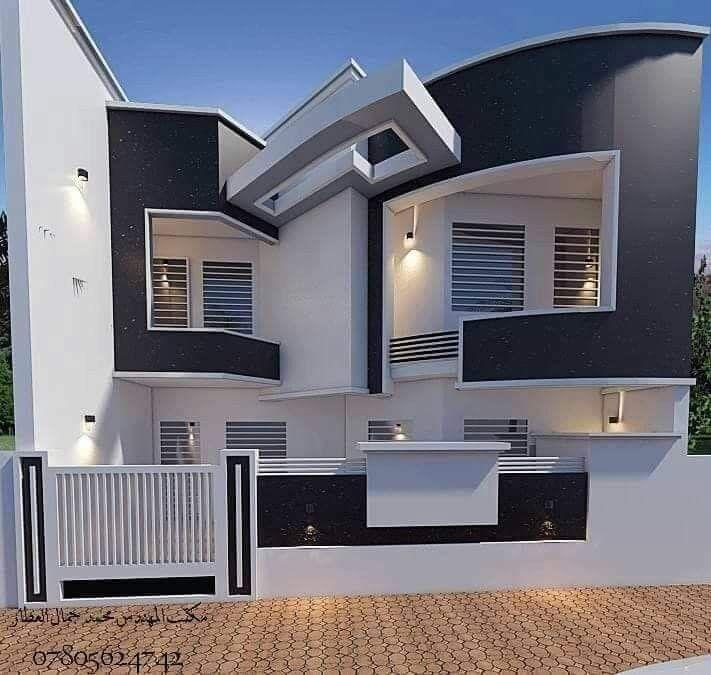 Modern house.   Modele maison moderne, Maison architecte ...