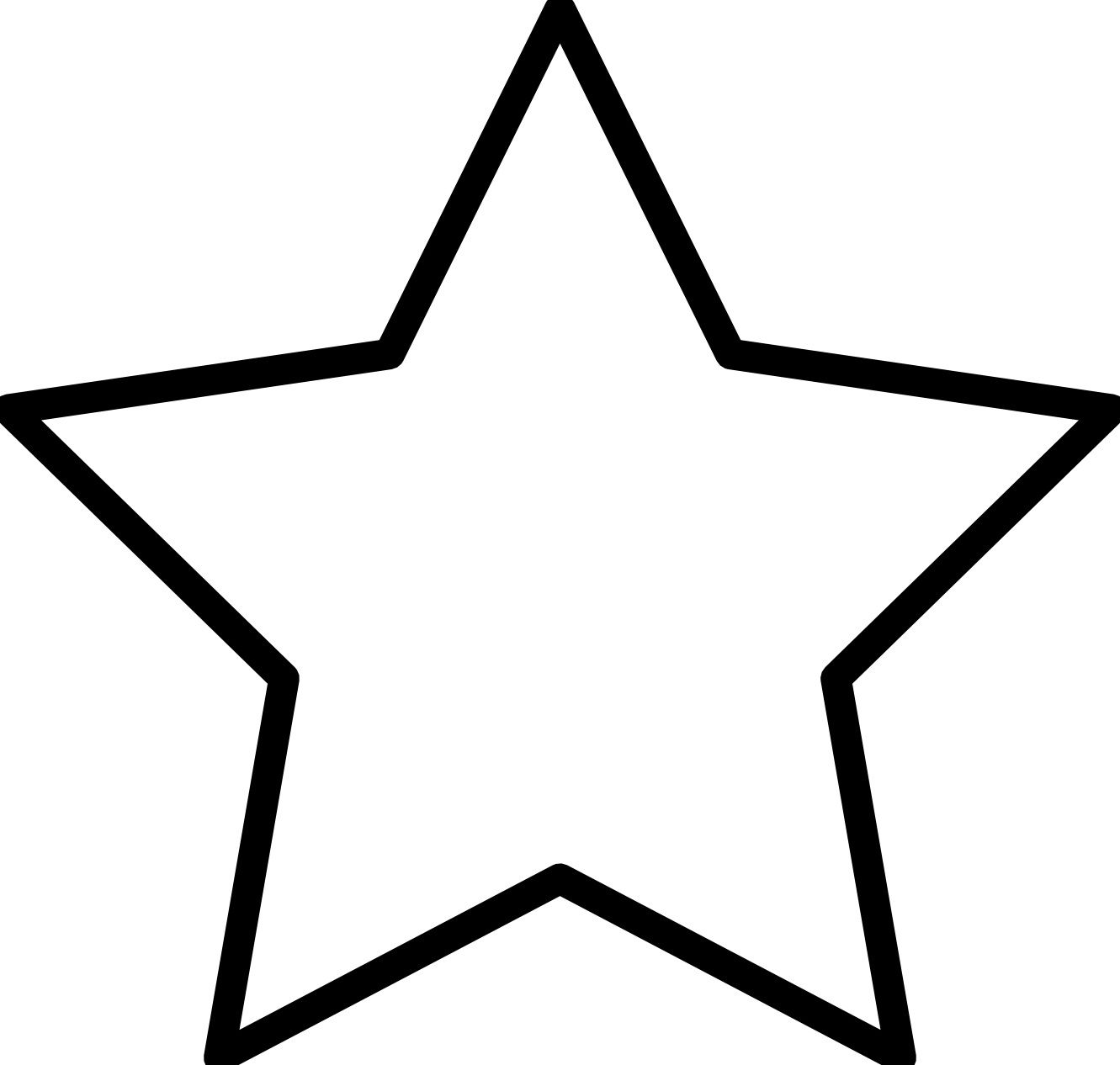 Star Coloring Pages Star Template Printable Star Coloring Pages Star Template