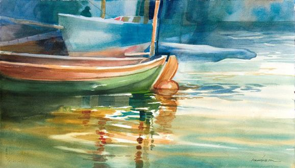 Famous Watercolor Artist | Jeanne Larson | watercolors ...