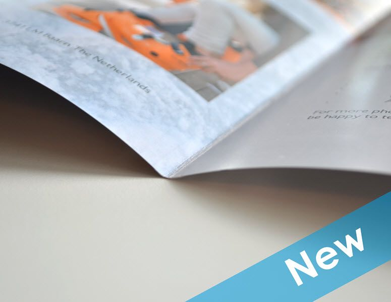 New options at Jilster! You can now order a 4 page #magazine