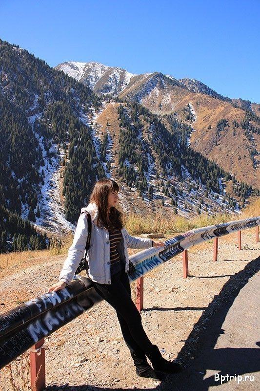 Горы Тянь Шань в Казахстане