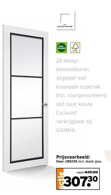 Glazen Plank Gamma.Jan De Bouvrie Binnendeur Via Gamma Jbg125 Home Kitchen
