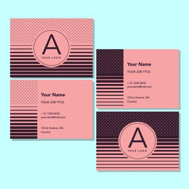 Free Job Card Template Interesting Pinsilvia Natalia On Free Business Card Template  Pinterest .