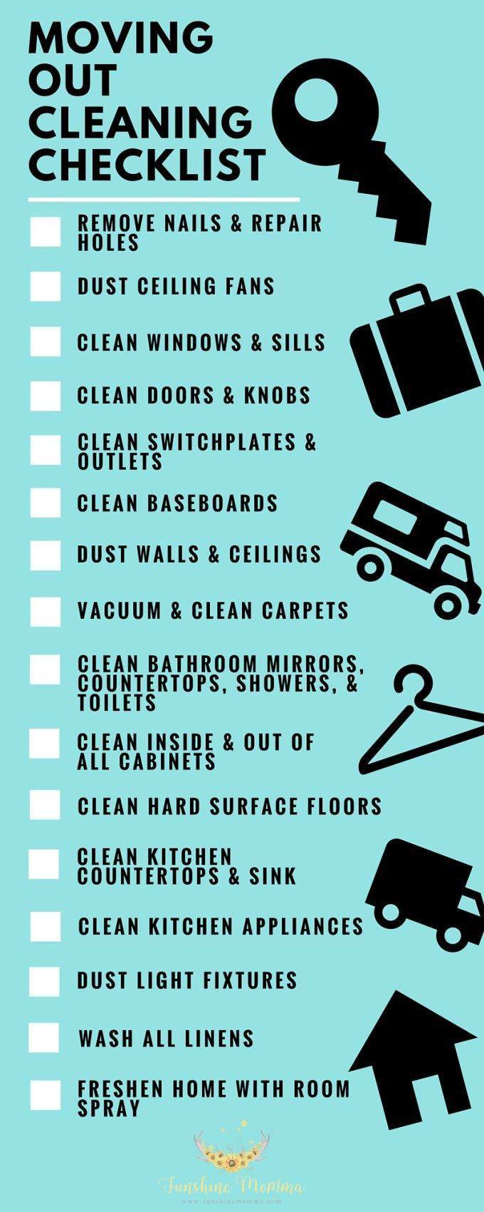 What to clean before moving out of your rent home | Renting, Walmart ...