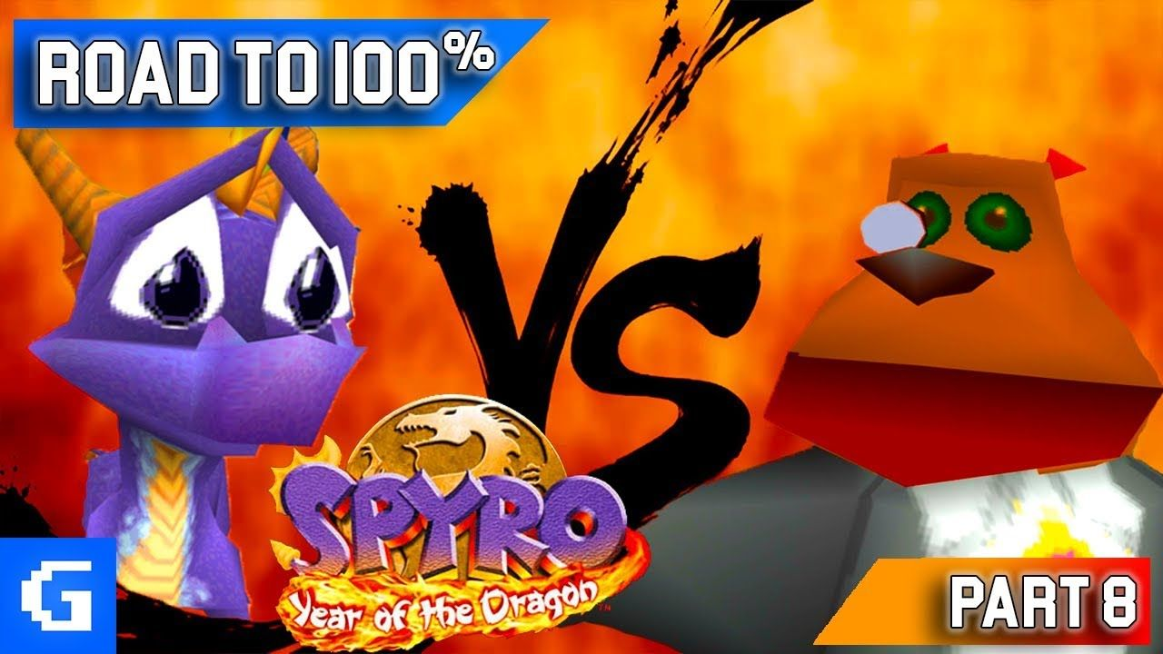 Spyro 3 Year of the Dragon [Road to 100] [08] [Midnight