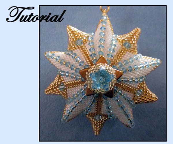 Beaded Christmas Ornaments Patterns.Beaded Christmas Star Ornament Pattern Bead Patterns